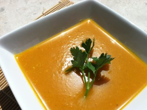 Butternut curry soup recipe
