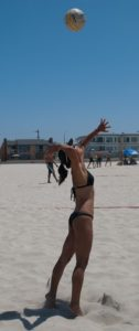 Get me back into beach volleyball shape and you'll be in shape too.